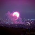 fireworks baldwin hills overlook | richfallatjr.com