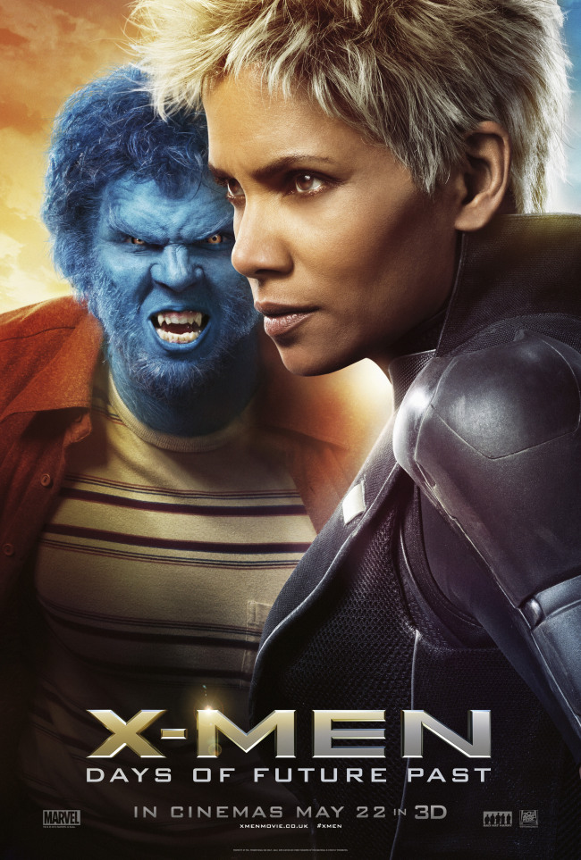 x men beast days of future past poster